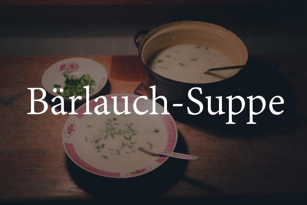 Bärlauch-Suppe Rezept