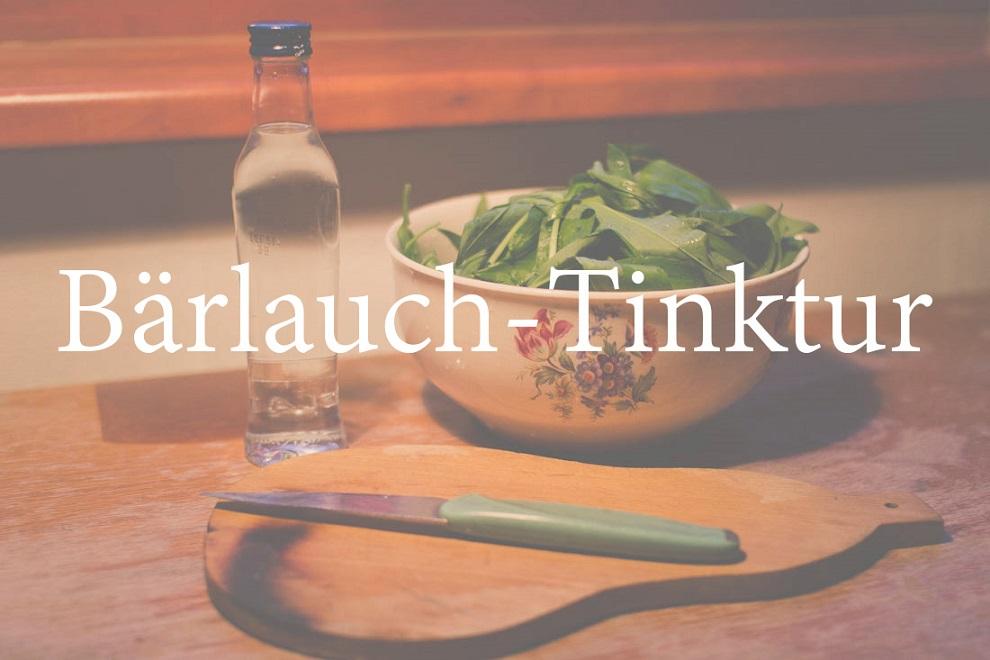 Bärlauch-Tinktur