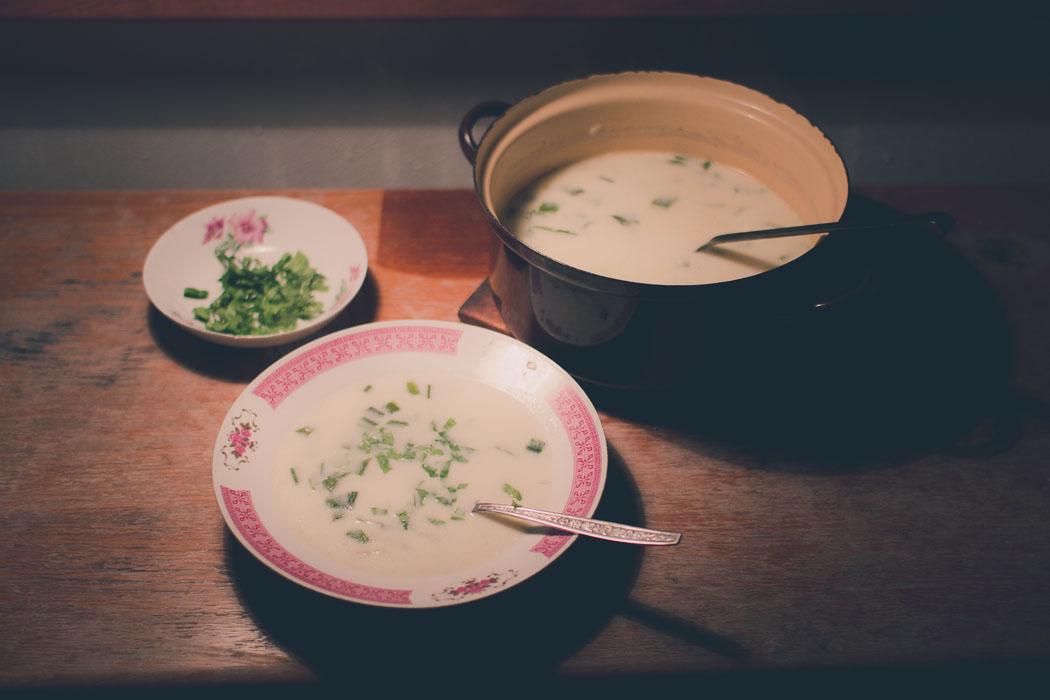 Cremige Bärlauch-Suppe