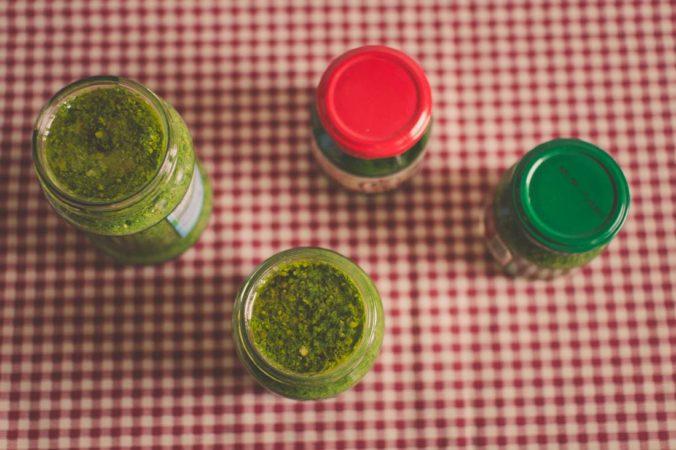 Das Rezept für Pesto aus Bärlauch
