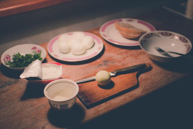 Eieraufstrich mit Bärlauch Zutaten