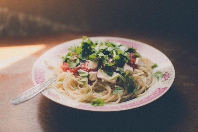Leckere Spaghetti mit Bärlauch
